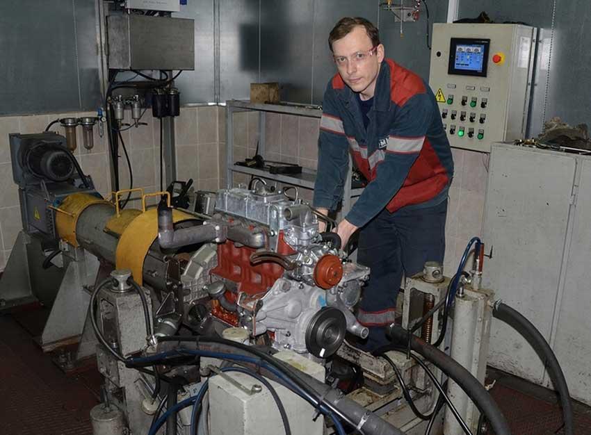 Ремонт двигателя ММЗ